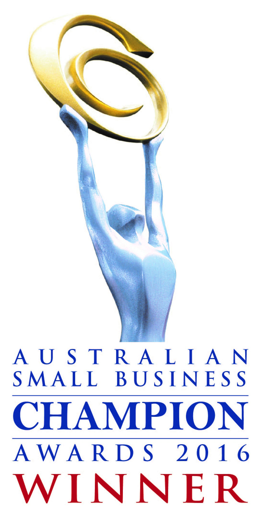 Winner for the 2016 Australian Small Business Champion Awards