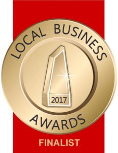 Finalist for Local Business Awards 2017